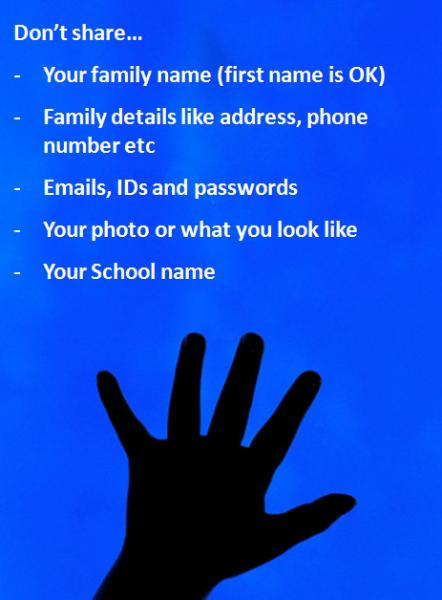 Resources - eSafety Hand Poster